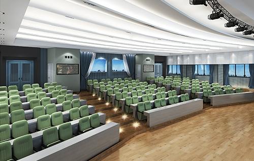 重庆永川报告厅装修设计