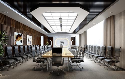 木棉树软件开发公司会议室