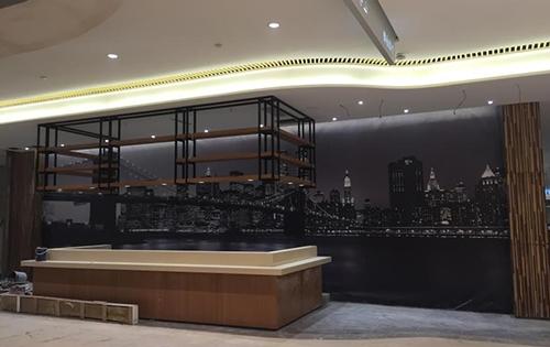 皇茶奶茶店店铺定位装修设计